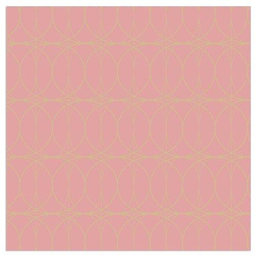 Napkin circles rose