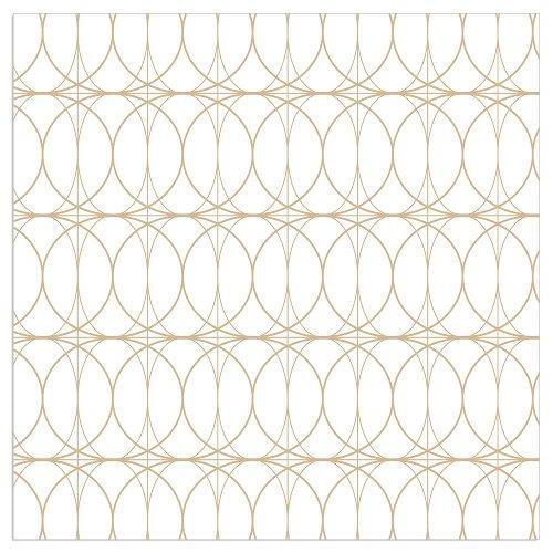 Napkin circles white
