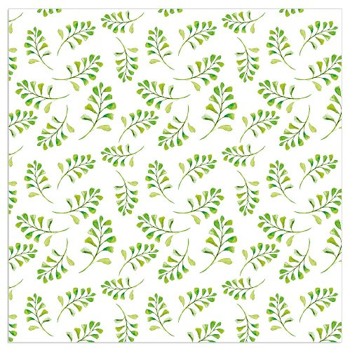 Napkin branch white