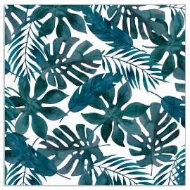 Napkin leaves navy