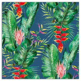 Napkin jungle navy