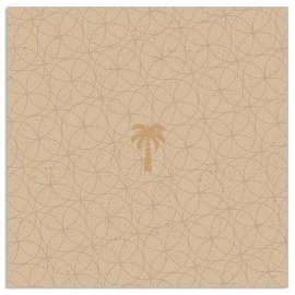 Napkin Organics palm gold