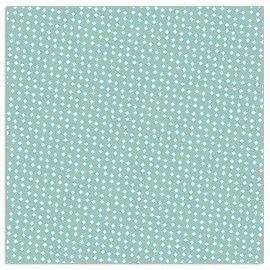 Napkin pattern aqua