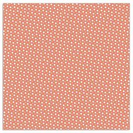 Napkin pattern coral