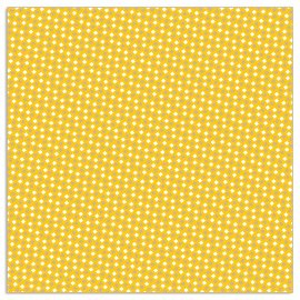Napkin pattern yellow