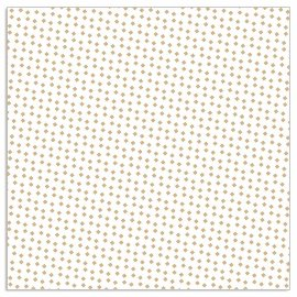 Napkin pattern white