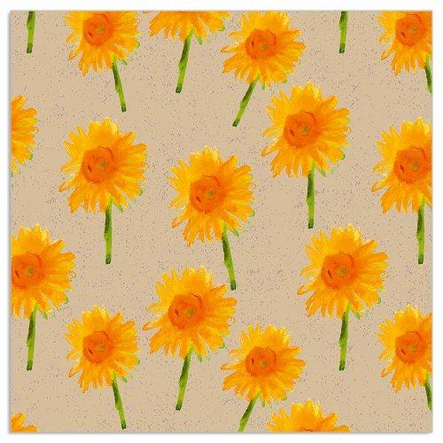 Serviette Organics Sonnenblumen