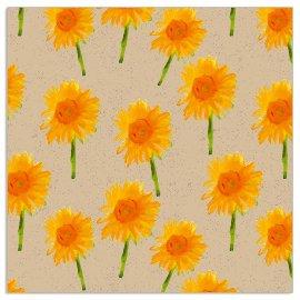Napkin Organics sunflowers