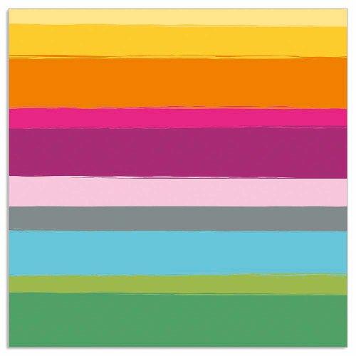 Napkin stripes multicolour