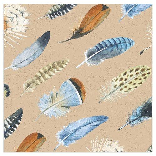 Napkin Organics feathers