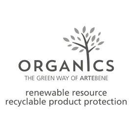 Serviette Organics Palmenblätter