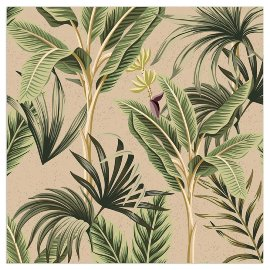 Napkin Organics palm leaves