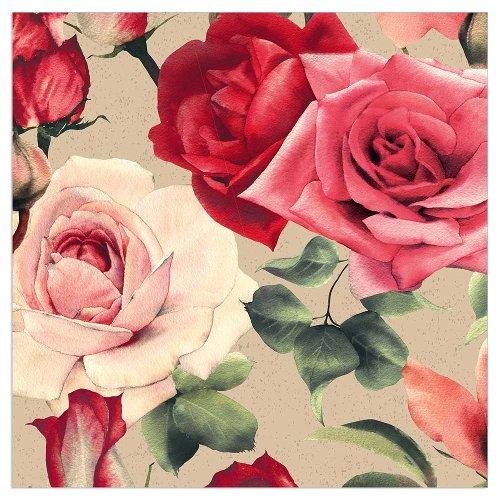Napkin Organics roses