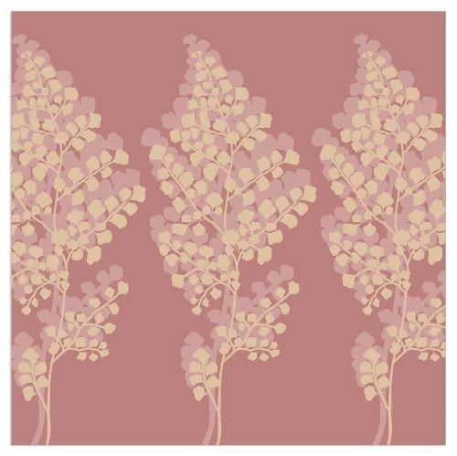 Napkin fern rosewood
