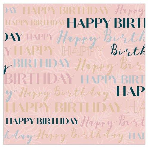 Serviette Geburtstag Happy Birthday Nude