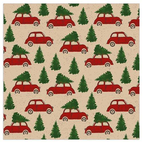Serviette Organics Weihnachten Autos
