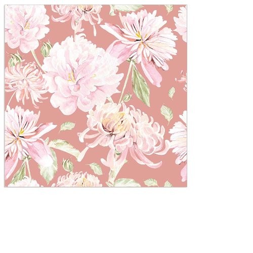 Napkin mini flower rose