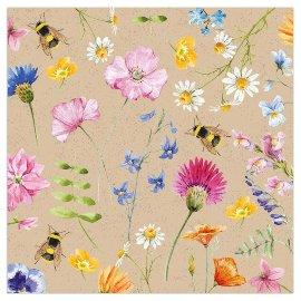 Napkin organics Flowering meadow