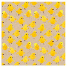 Napkin organics eastern yellow