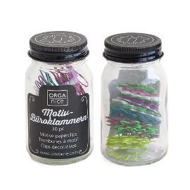 paperclips in jar/30 pcs.