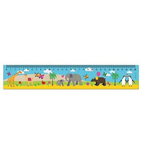 ruler/lenticular foil/31x5cm