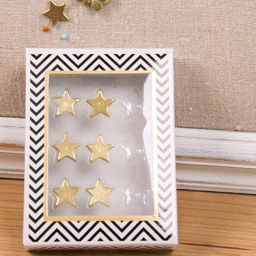Reißzwecken Finest Metall Sterne