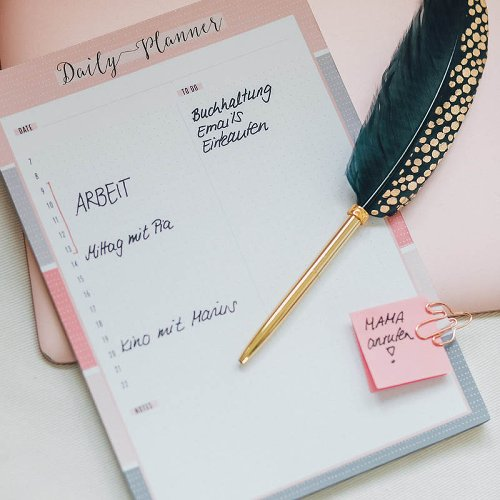 daily planner/16,3x23cm/52 sheets