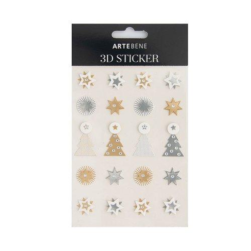 3D sticker sheets/paper