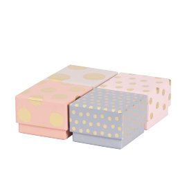 Gift box 4 pcs. set dots