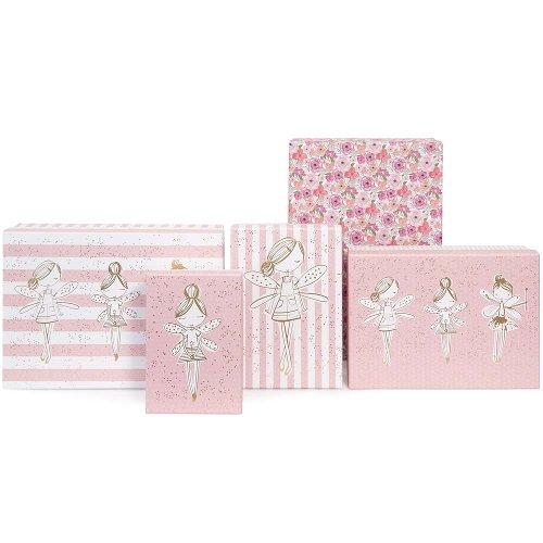 Geschenkboxen 8er Set Fee Blümchen