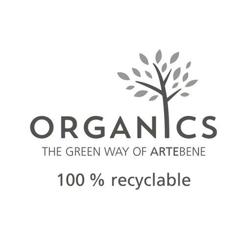 Geschenkboxen Organics Kraftrippe 8er Set Streifen