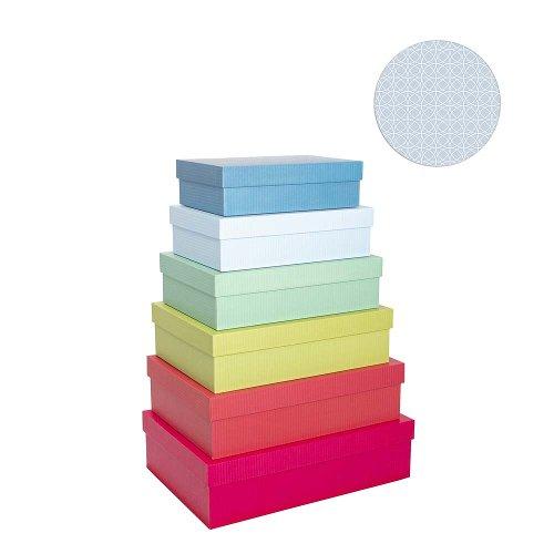 Gift boxes 6 pcs. set uni