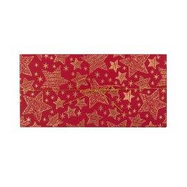 Geschenkbox Weihnachten Sterne Rot