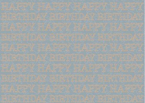 Geschenkpapier Finest Happy Birthday