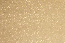 Wrapping paper sheet kraft stars