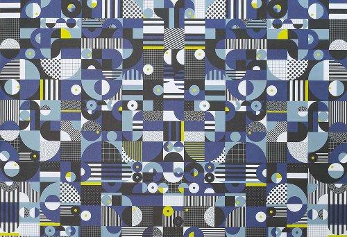 Geschenkpapier Muster Bauhaus