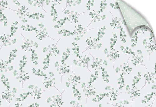 Geschenkpapier Hochzeit Eukalyptus