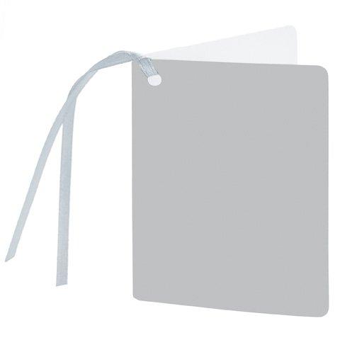 gift tag/5,5x7,5cm/silver