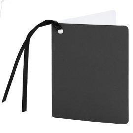 gift tag/5,5x7,5cm/black