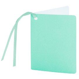 gift tag/5,5x7,5cm/mint