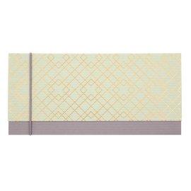 Gift envelope pattern gold