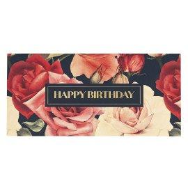 Gift envelope roses
