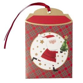 Gift envelope Christmas santa B6
