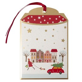 Gift envelope Christmas Home B6