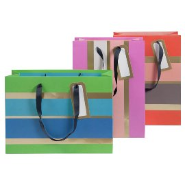 gift bags/triple mix large/22x30x11cm/
