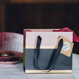 gift bags/triple mix/18x16x8cm