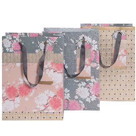 gift bags/triple mix L/22x30x11cm