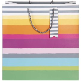 Gift bag stripes