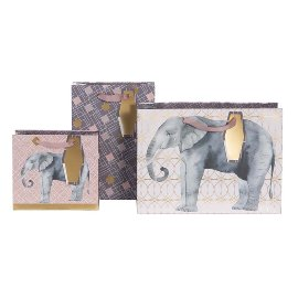 Gift bag set elephant