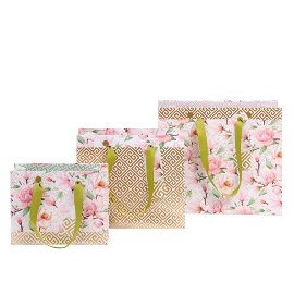 Gift bag set magnolia